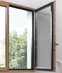 La combinaison du bois et de l'alu: des fenêtres plus modernes à Kirrberg